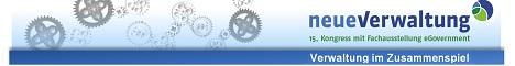 """Kongress neueVerwaltung: Frühbucherrabatt bis zum 31. März  Noch bis zum 31. März 2014 können sich Frühbucher zum Preis von 380 Euro für den 15. Kongress neueVerwaltung (6./7. Mai, CCL in Leipzig) anmelden. Danach beträgt die Teilnahmegebühr 450 Euro.  Das diesjährige Motto lautet: Verwaltung im Zusammenspiel. Schirmherr der Veranstaltung ist Stanislaw Tillich, Ministerpräsident des Freistaates Sachsen.  Im Forenstrang """"Kommunale Netzwerke"""" zeigt die zweitägige Veranstaltung Möglichkeiten des Zusammenspiels per Social  Media, mobile Governments und E-Partizipation auf.  Mehr Informationen unter www.neueVerwaltung.de"""