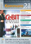 Kommune21 Ausgabe 3/2003