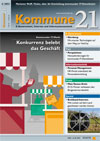 Titelseite der aktuellen Ausgabe von Kommune21