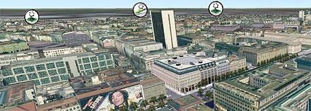 Berliner Wirtschaftsatlas bietet Informationen in mehreren Dimensionen.