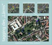 Stadtpark Kaiserslautern: Lärm wurde von den Bürgern via Smartphone erfasst.