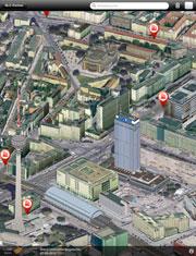 smartMap Berlin: 3D-Stadtplan für die Hosentasche.