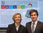 eustadt Digital jetzt auch mit App.