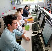 Mannheimer Schüler nutzen Medienräume gerne.