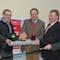 Die Unternehmen RWE Deutschland und Vodafone haben der Gemeinde Waldorf Breitband-Internet ermöglicht.