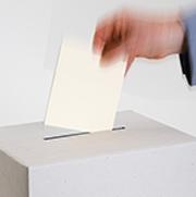 Software-System unterstützt Wahlen.