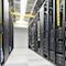 Blick ins ISGUS-Rechenzentrum, mit dem das Unternehmen seine Dienstleistung Software as a Service für die Lösung ZEUS zur Verfügung stellt.