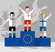 Haben im E-Government exzellent abgeschnitten: Malta, Finnland und Estland.