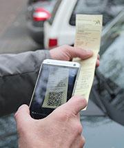 Mit dem Bezahllotsen Strafzettel per Handy begleichen.