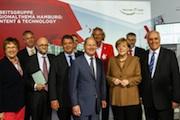 Nationaler IT-Gipfel in Hamburg: An politischer Prominenz mangelte es nicht.