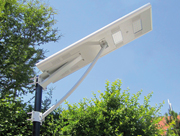Insbesondere an entlegenen Orten stellen LED-Solarlampen eine kostengünstige Alternative dar.
