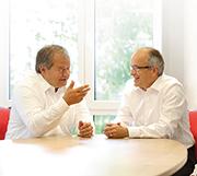 Bernward Egenolf und Harald Frühwacht.