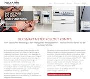 Voltaris hat eine Website zur Einführung digitaler Messeinrichtungen und Messsysteme online gestellt.