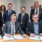 Unterzeichnung des Partnerschaftsvertrags zwischen den Stadtwerken Osnabrück, den Gemeindewerken Wallenhorst und Naturstrom.