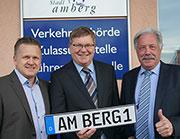 In der Zulassungsstelle Amberg wurde ein neues Kfz-Fachverfahren eingesetzt.
