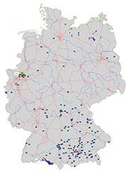 Vor allem bayerische Kommunen nutzen ELBe.