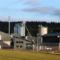 Das Biomasse-Heizkraftwerk in Wunsiedel wird mit Holz aus dem Fichtelgebirge und dem Frankenwald betrieben.