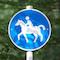 Im Rhein-Kreis Neuss können Reitplaketten jetzt online beantragt werden.