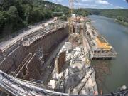 Das Main-Kraftwerk Rothenfels wird für rund 13 Millionen Euro modernisiert.