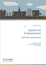 Im Projekt Negativliste hat Vitako untersucht, welche Einsparungen bei zehn Top-Leistungen für Bürger und Unternehmen durch das E-Government denkbar sind.