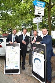 Braunschweig und Wolfsburg testen das Handyparken.