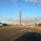 Das Baufeld zur Errichtung der Acht-Megawatt-Windkraftanlage von Adwen.