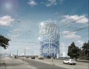 Gewinner-Entwurf: So könnte er aussehen, der Energie- und Zukunftsspeicher der Stadtwerke Heidelberg.