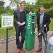 34 Kommunen in Schleswig-Holstein erhielten Fördermittel für den Bau von  Ladesäulen für Elektroautos.