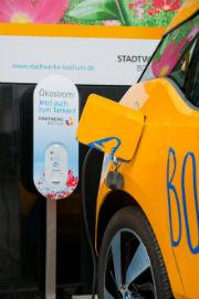 Pachtmodell für Ladesäulen: Ökostrom tanken mit der Wallbox der Stadtwerke Bochum.