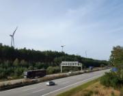 Eine Leistung von 33 Megawatt hat der neue Windpark von TEE im Bundesforst bei Königs Wusterhausen.