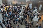 2. AKDB Kommunalforum: Rund 900 Besucher aus dem gesamten kommunalen Umfeld fanden den Weg in die BMW Welt München.