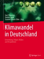 """Das Wissenschaftsbuch """"Klimawandel in Deutschland"""" stellt die Folgen des Klimawandels für Deutschland dar und empfiehlt notwendige Reaktionen."""