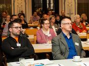 Die Besucher konnten beim 10. Infotag E-Government zwischen den Standorten Hannover und Frankfurt wählen.