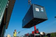 ORC-Modul im Container erhöht die Leistung von Biogas-BHKWs.