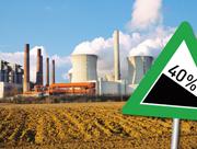 Ehrgeizige Klimaziele: Bis zum Jahr 2020 sollen die nationalen Triebhausgasemissionen um 40 Prozent gegenüber dem Vergleichsjahr 1990 reduziert werden.