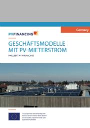 Der Leitfaden zum PV-Mieterstrom stellt Best Practises und die neusten Landesförderprogramme vor.