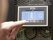 IT-Racks, Klimatisierungslösung und Überwachungstechnik von Rittal helfen dabei, die Ausfallsicherheit der IT zu gewährleisten.