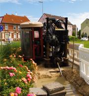 Glasfaserausbau in Luckenwalde: Weniger Beeinträchtigungen durch Pressbohrverfahren.