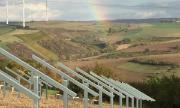Der Solarpark Auf dem Hackenberg hatte im April 2016 einen Zuschlag in der vierten Ausschreibungsrunde für PV-Freiflächenanlagen erhalten.