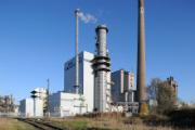 Das Gemeinschaftskraftwerk Bremen im Januar 2014.
