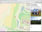 OpenGridMap: Lage einer Solaranlage.