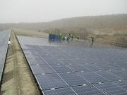 Auf einer knapp 280 Meter langen Dachfläche errichtet die Pfalzwerke-Tochter ein Solarkraftwerk mit einer Leistung von 1,7 Megawatt.