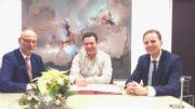 Die Stadt Gifhorn und die Stadtwerke haben die noch offenen Konzessionsverträge unterschrieben.