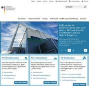 Im Responsive Design präsentiert sich jetzt das Bundesamt für Wirtschaft und Ausfuhrkontrolle im Internet.