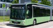 Auf der diesjährigen Messe IAA Nutzfahrzeuge zeigte MAN Truck & Bus ein modulares Konzeptfahrzeug eines Elektro-Gelenkbusses.