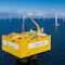 Windpark Baltic 2: Besonders stark stieg die Stromerzeugung von Windkraftanlagen auf See.