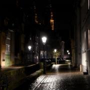 LED-Leuchtmittel in den traditionellen Altstadt-Leuchten sorgen für mehr Ambiente in der Fuldaer Altstadt.