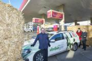 enercity-Kunden tanken an Hannovers Gastankstellen künftig Bio-Methan aus Stroh.