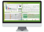 Die econ-Software zeigt alle Energieverbräuche im Unternehmen auf einen Blick.