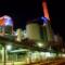 Das Frankfurter Heizkraftwerk West erzeugt neben Strom auch Wärme.